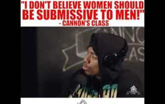 I don't believe women should be submissive to men! #CannonsClass