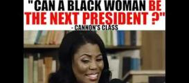 Can a Black woman be the next President? #CannonsClass
